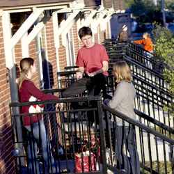 Students on the Stoop