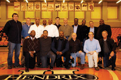 1984 Basketball Team present