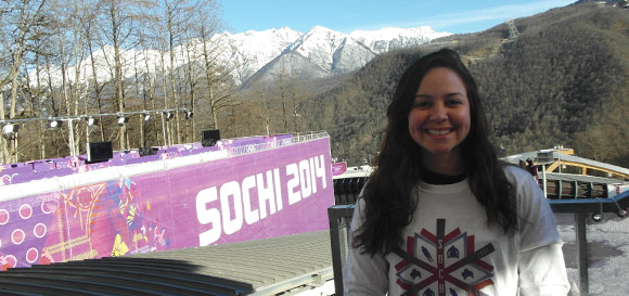 Jennifer Koller at Sochi