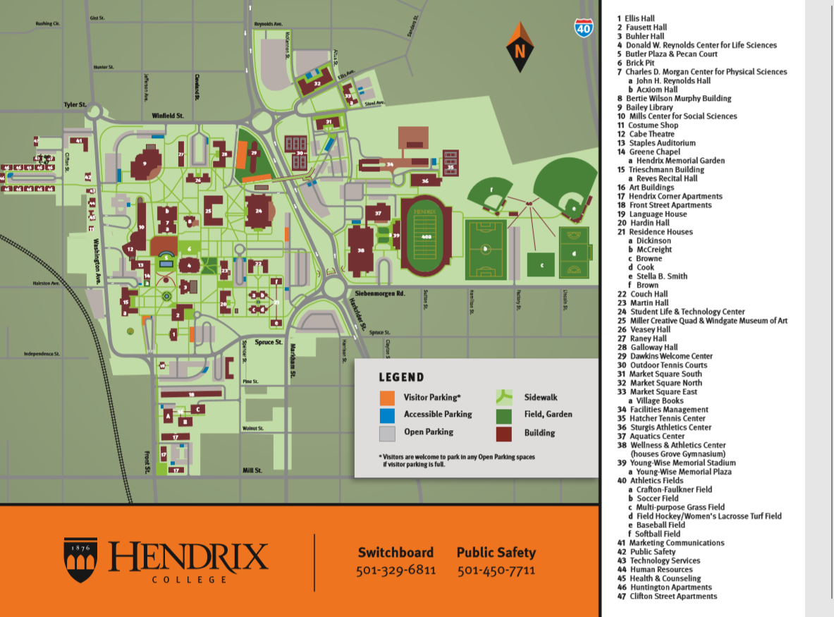 Campus Map July 2019
