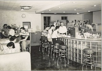 Soda Fountain 1950