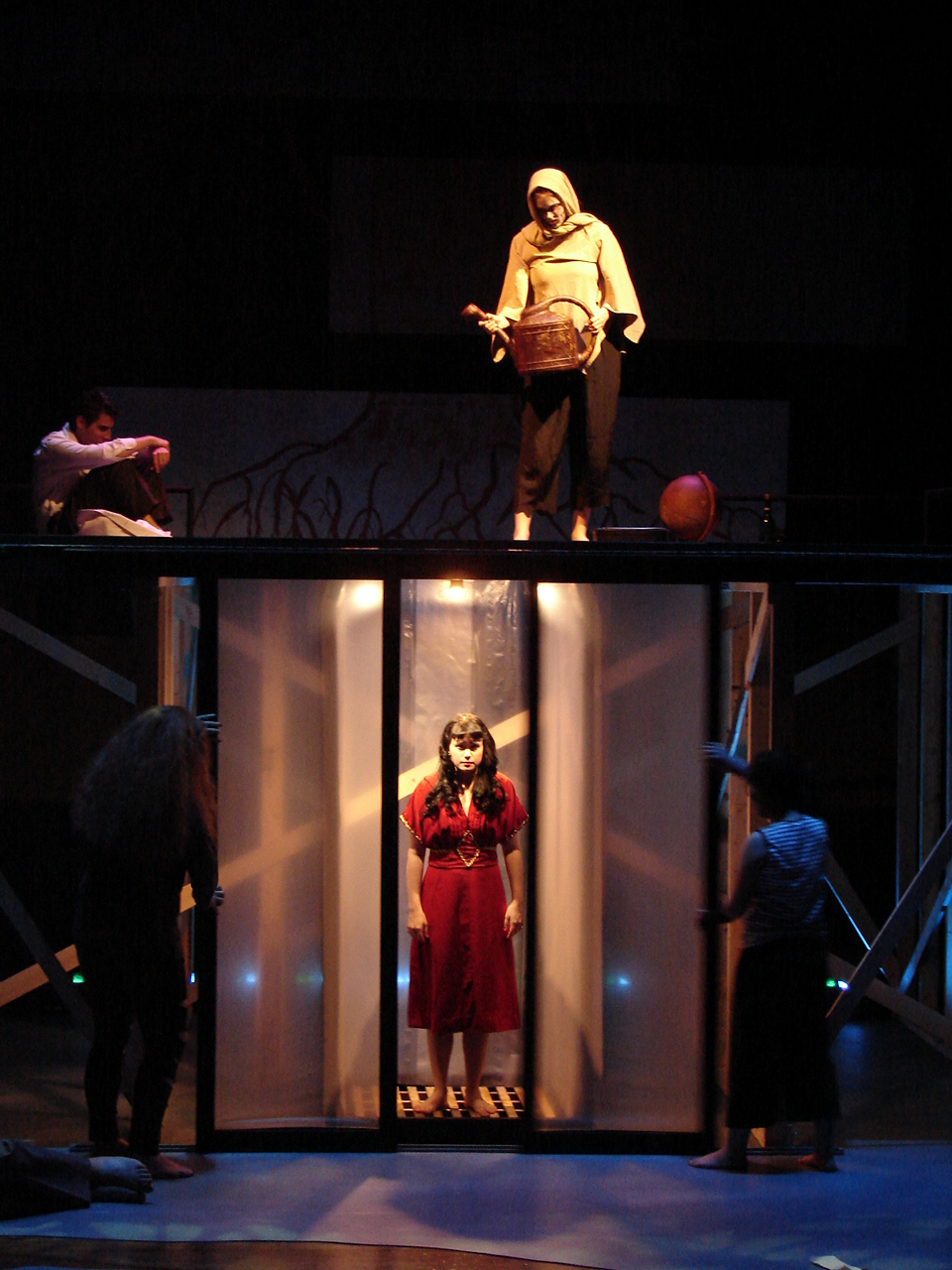 the concept of strings in eurydice by sara ruhl The artistic vision behind eurydice by sarah ruhl is jasdeep gill, the   constructs a room for ching's eurydice out of string, while she jumps.