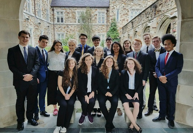 Mock Trial teams 2017