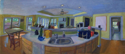 Kitchen Panorana - middle panel