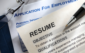 Career Services assists with resume and cover letters